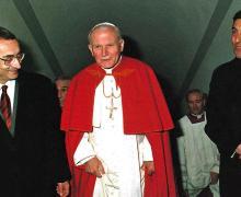 Il Papa a Camerino